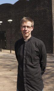 Klippans nya kyrkoherde Tomas Wassenius
