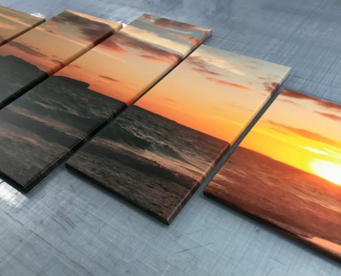 Canvas-tavlor i olika storlekar