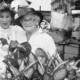 Gammelmarknaden 1985, Iris och Kjerstin.Foto: privat