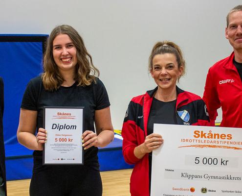 Klippans gymnastikkrets – Ebba Helgesson (barngymnastik)